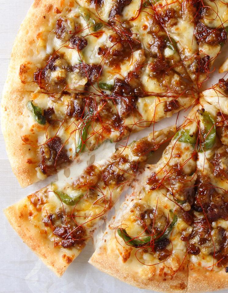 ピザハット「炭火焼ビーフカルビピザ」