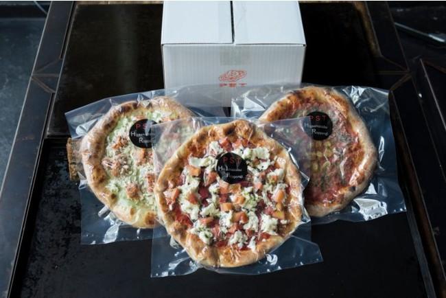 【業界初!宅配冷凍ピザ】「PST六本木」Pizzaマリナーラが冷凍ピザに仲間入り